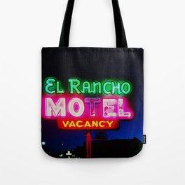 El Rancho Motel ... Tote Bag