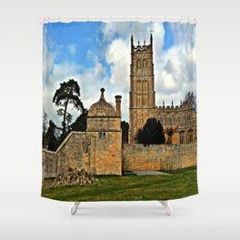 St James Church. Chipping Campden Shower Curtain