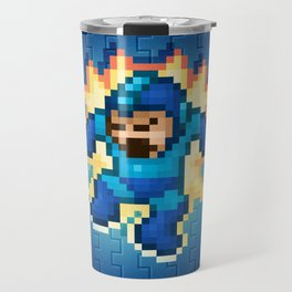 Megaman Damage Travel Mug
