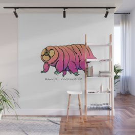 Water Bear Don't Care Wall Mural