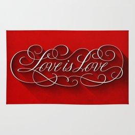 Love is Love Rug