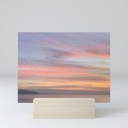 Light Pastel Stripe Photo by Christie Olstad Mini Art Print