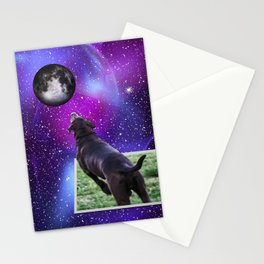 Reaching For The Moon Stationery Cards