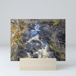 Rogie Falls Mini Art Print