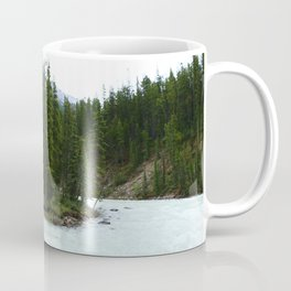 Sunwapta Falls - Jasper National Park Coffee Mug