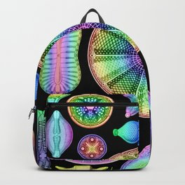 Ernst Hackel Diatomea Diatoms Backpack