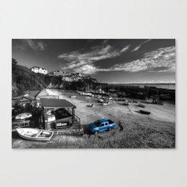 Newquay Harbour  Pickup  Canvas Print