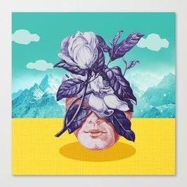 hidden face Canvas Print