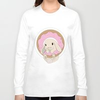 sprinkles Long Sleeve T-shirts featuring Sprinkles the Bunny by LarissaKathryn