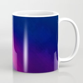 Vibrant Colorful Rays between Clouds 18 Coffee Mug