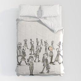 Unplugged Urban Art Comforters