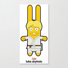 Sr. Trolo / luke skywalker Canvas Print