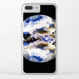 Globe19/For a round heart Clear iPhone Case