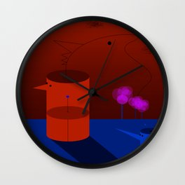 Ignorance is a voluntary misfortune Wall Clock
