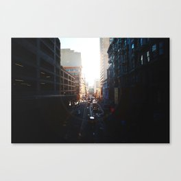 The way I see it is, We live in a rainbow of chaos Canvas Print