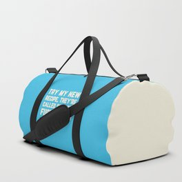 Shut The Fucupcakes Funny Quote Duffle Bag