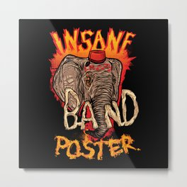 Band Poster Metal Print