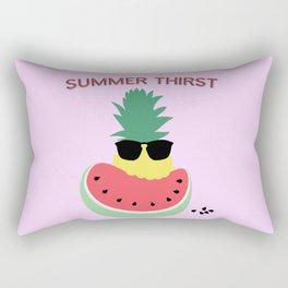 Summer thirst Rectangular Pillow