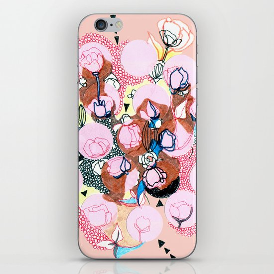 Poppies iPhone & iPod Skin