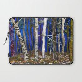 New England Birch Trees Laptop Sleeve