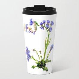 Statice Flower Dissection Travel Mug
