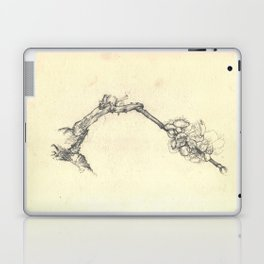 Blossoming branch Laptop & iPad Skin