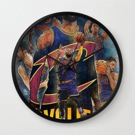 cavaliers Wall Clock