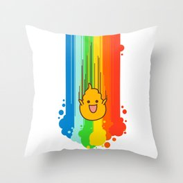 Overflowing with Awesomeness Throw Pillow