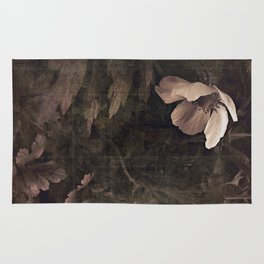 butterfly anemone Rug