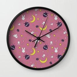 Luna Moon Rabbit Full Wall Clock