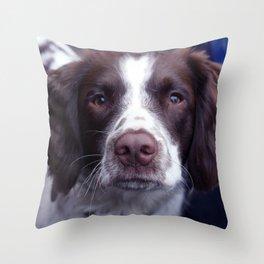 great dog Throw Pillow