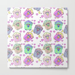 Talk Furby To Me Metal Print