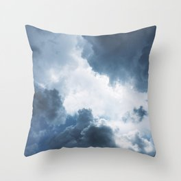 Rolling Cumulonimbus Throw Pillow