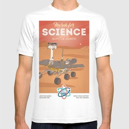 March For Science Series : Mars Rover T-shirt