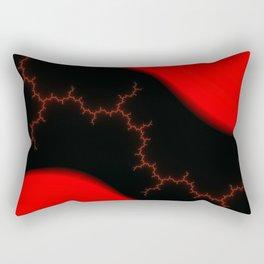 Thorny path Rectangular Pillow
