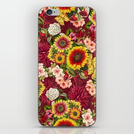 Summer Botanical Garden XV iPhone Skin