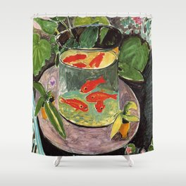 Henri Matisse Goldfish 1911, Goldfishes Artwork, Men, Women, Youth Shower Curtain
