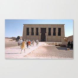 Temple of Dendera, no. 5 Canvas Print
