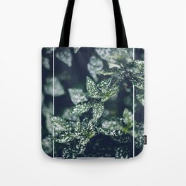 In the Garden with Rectangle Tote Bag