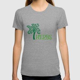 Adorable Cute Herbs Gardening Weeding T-shirt