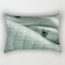 Shrewd as a Serpent Rectangular Pillow