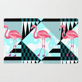 flamingo all days Rug