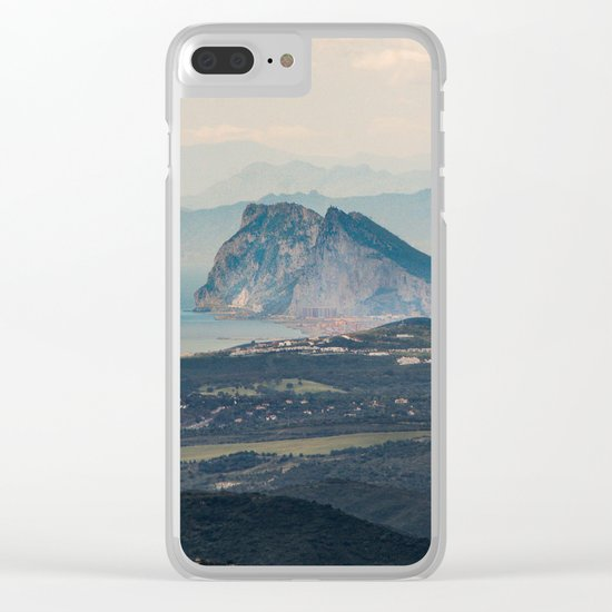 Rock of Gibraltar Clear iPhone Case