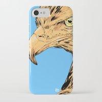 eagle iPhone & iPod Cases featuring Eagle by Giuseppe Cristiano