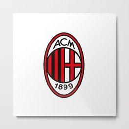 AC Milan Logo Metal Print