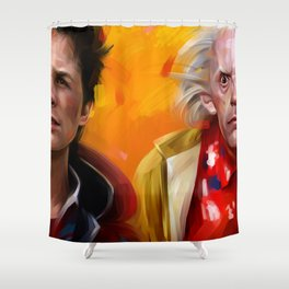 BTTF Shower Curtain