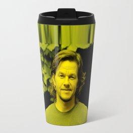 Mark Wahlberg - Celebrity (Florescent Color Technique) Travel Mug