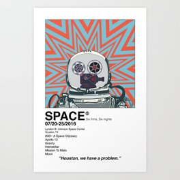 Astronaut Series 1 Art Print