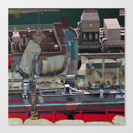 Loading the Roof Canvas Print