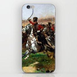 Edouard Detaille Vive L'Empereur iPhone Skin